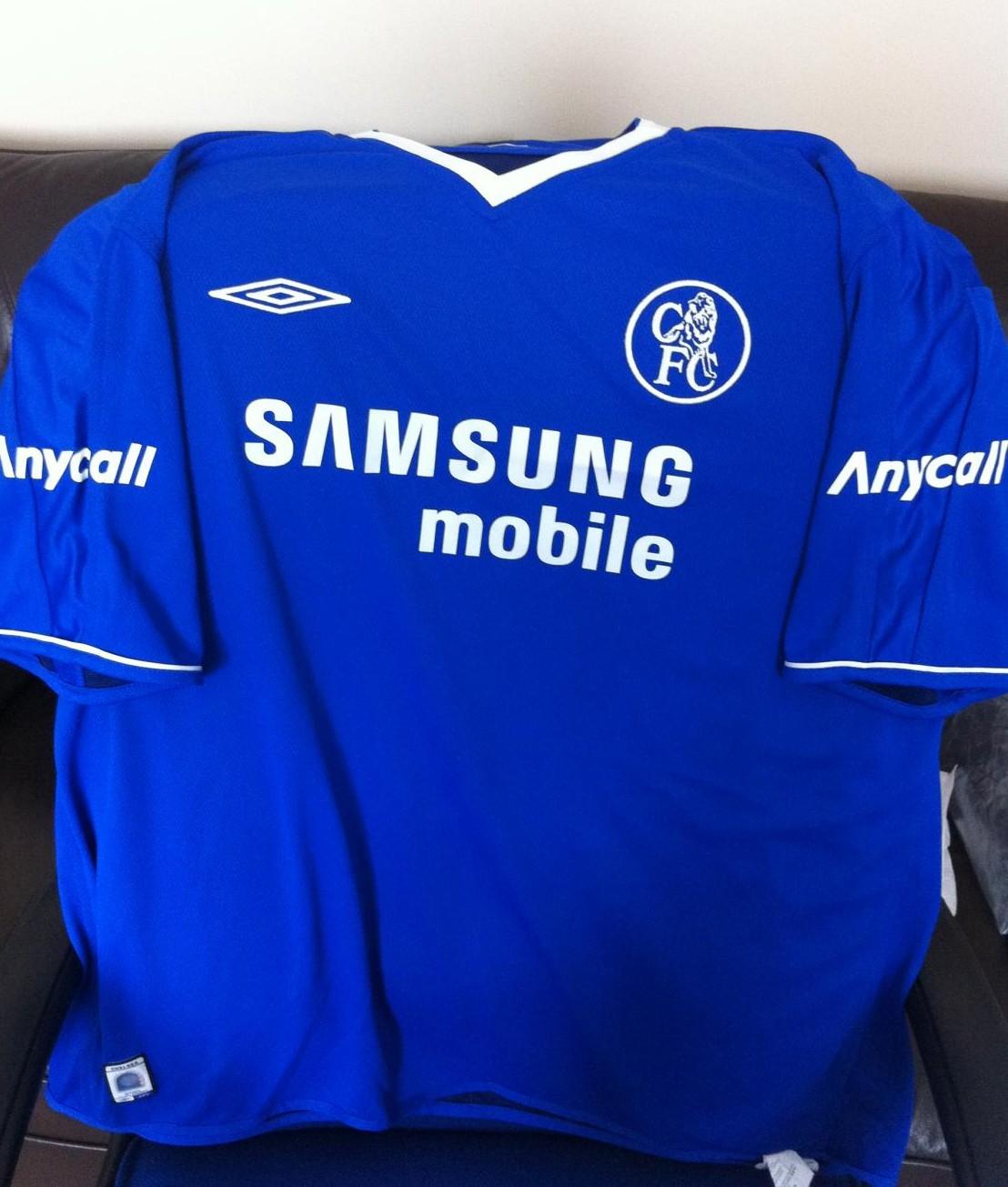 new concept 6c0b0 8d8fe Chelsea Special Camiseta de Fútbol 2004 - 2005. Sponsored by ...