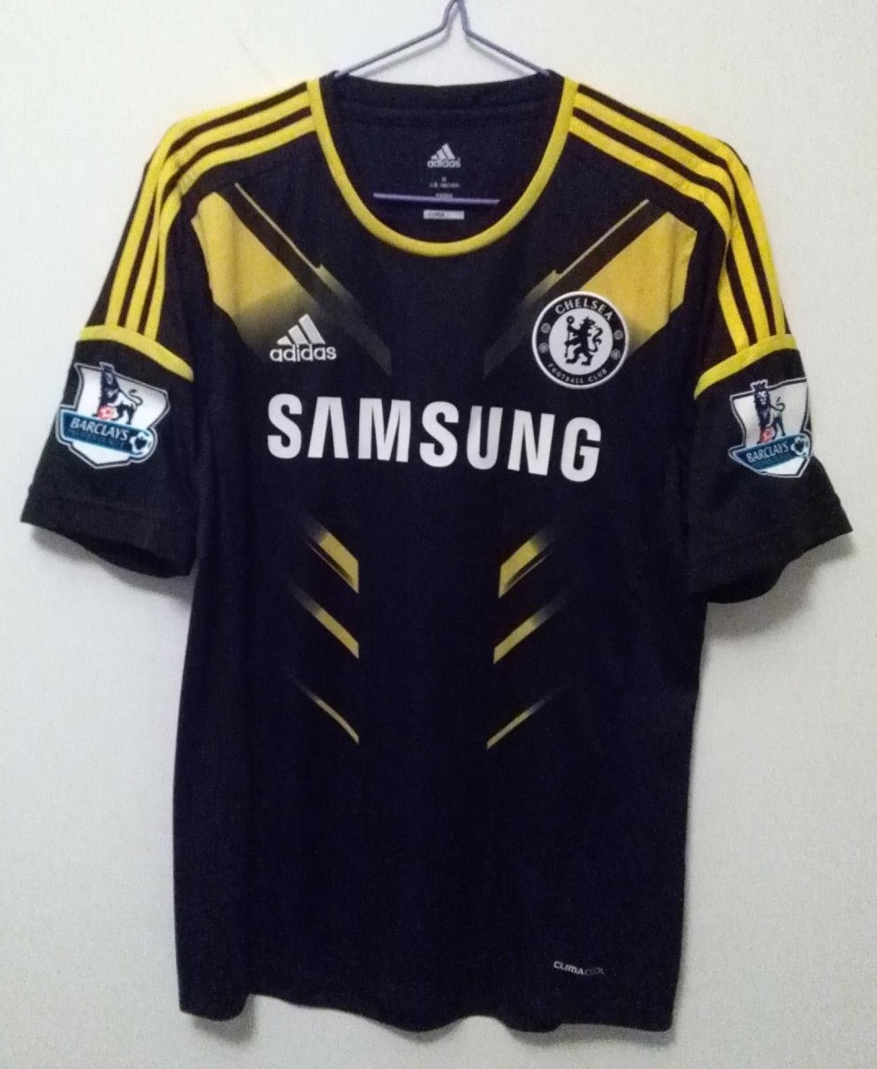 Chelsea Third Maillot de foot 2012 - 2013. Sponsored by Samsung 64f39907b