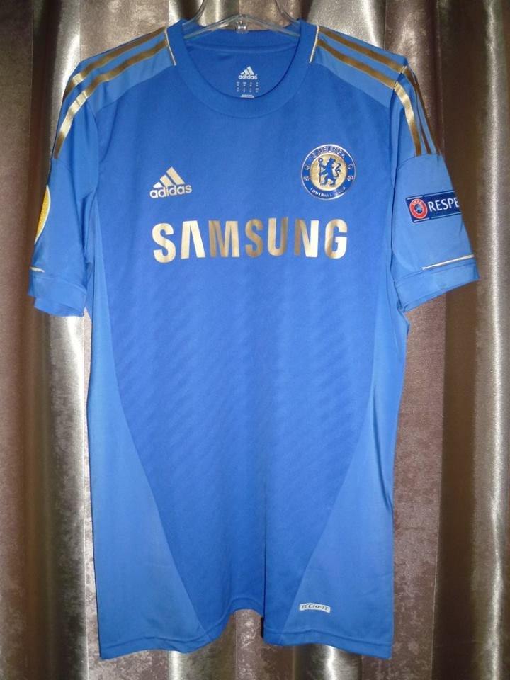eb28c13afa Chelsea Home camisa de futebol 2012 - 2013. Sponsored by Samsung