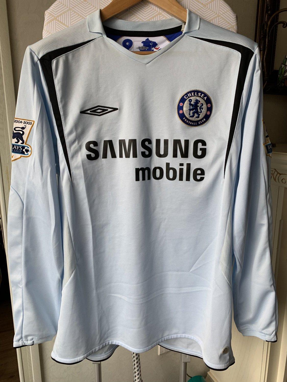 Umbro Chelsea 2005-2006 Away Jersey Youth
