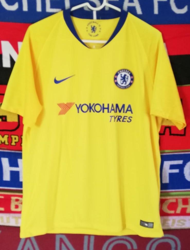 timeless design a65d1 1817b New Season Chelsea Away football shirt 2018 - 2019 ...