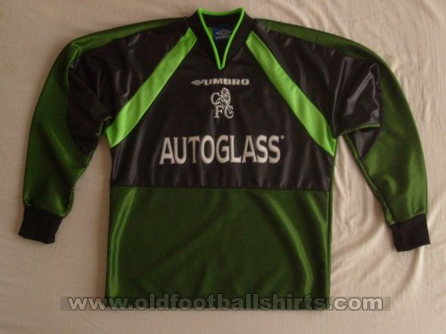 Chelsea Goalkeeper football shirt 1998 - 1999