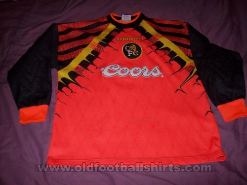 Chelsea Goalkeeper football shirt 1995 - 1996