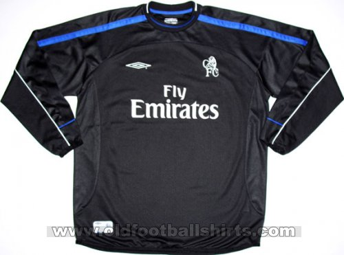 Chelsea Gardien de but Maillot de foot 2001 - 2002