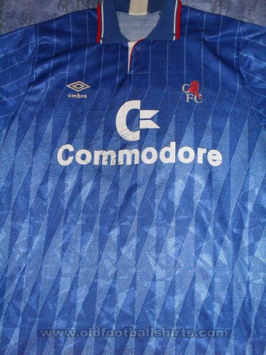 Chelsea Home football shirt 1990 - 1991