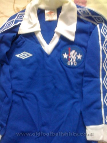 Chelsea Local Camiseta de Fútbol 1979 - 1981