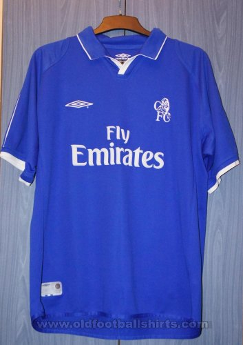 Chelsea Home Fußball-Trikots 2001 - 2003