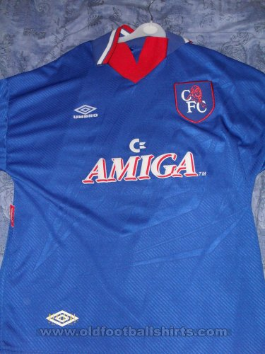 Chelsea Home Fußball-Trikots 1993 - 1994