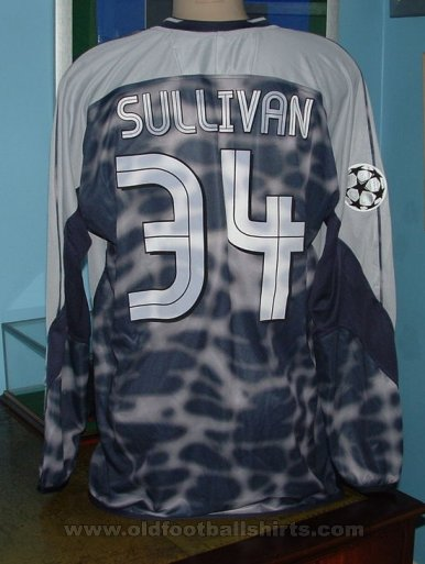 Chelsea Goalkeeper football shirt 2003 - 2005