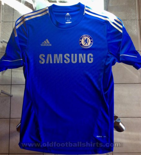Chelsea Home football shirt 2012 2013. Sponsored by Samsung
