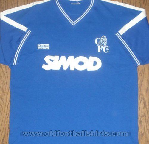 Chelsea Thuis  voetbalshirt  1986 - 1987