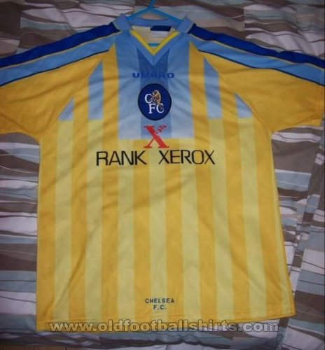 Chelsea Away Fußball-Trikots 1996 - 1997
