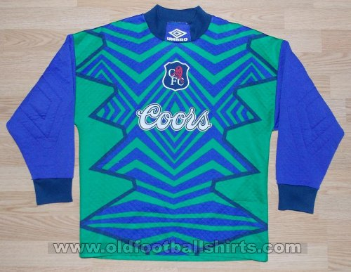 Chelsea Goalkeeper football shirt 1994 - 1995