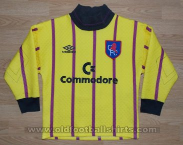 Chelsea Goalkeeper football shirt 1992 - 1993