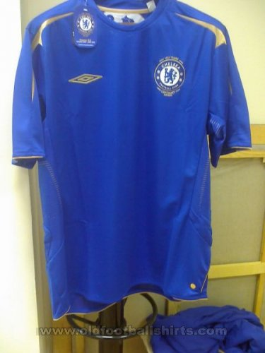 Chelsea Home Fußball-Trikots 2005 - 2006
