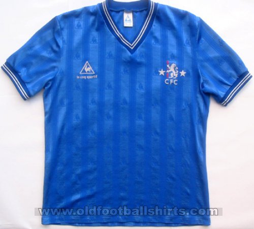 Chelsea Local Camiseta de Fútbol 1985 - 1986