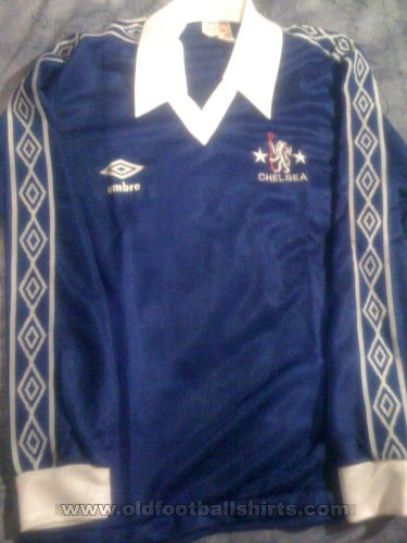Chelsea Home Fußball-Trikots 1977 - 1979
