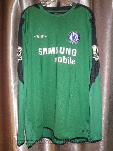 Chelsea Goalkeeper football shirt 2005 - 2006