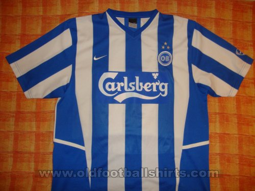 Odense BK Home חולצת כדורגל 2004 - 2005