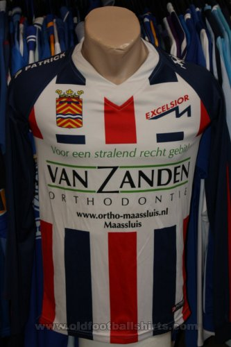 Excelsior Maassluis Home football shirt (unknown year)