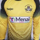 Menai Bridge Tigers FC football shirt 2019 - 2021