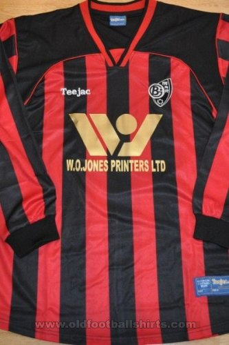 Bro Goronwy FC Home football shirt 2011 - 2012