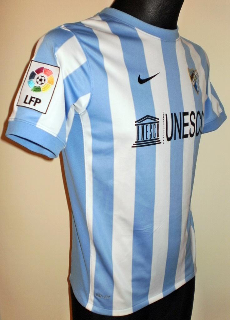 Malaga Casa camisa de futebol 2011 - 2012. Enviado por: Rude Cormorant,  Adicionado ao site em : Abril 29, 2015