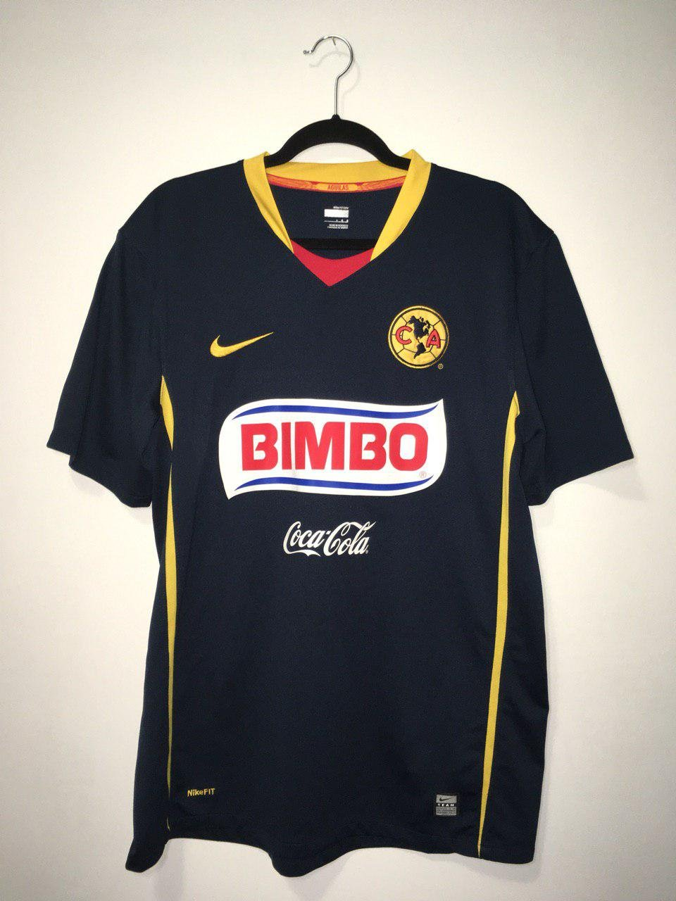 c7dc2e93e Club America Away camisa de futebol 2008 - 2009. Sponsored by Bimbo