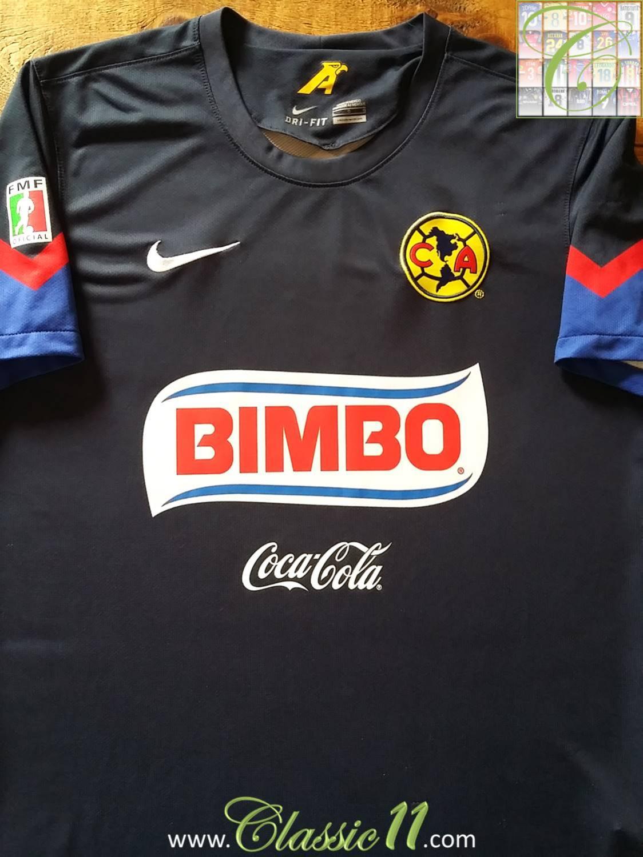 sale retailer 10dc7 734b3 Club America Away football shirt 2012 - 2013.