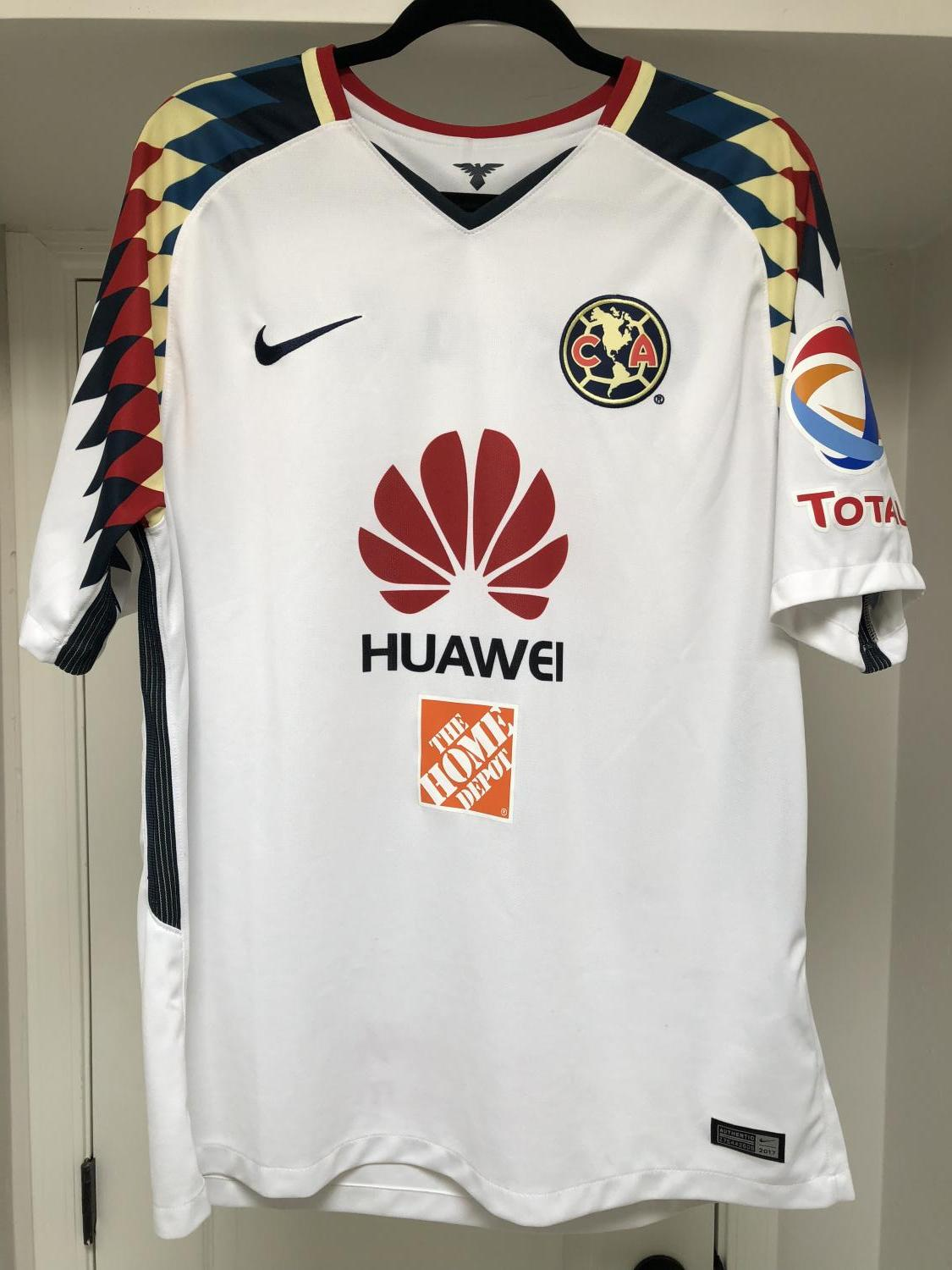 sneakers for cheap 25be8 fea18 Club America Away חולצת כדורגל 2017 - 2018.