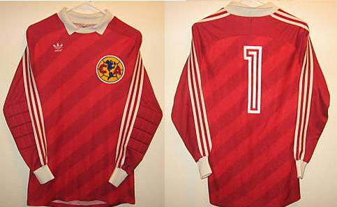 99e5cd997 Club America Goalkeeper Maillot de foot 1987.