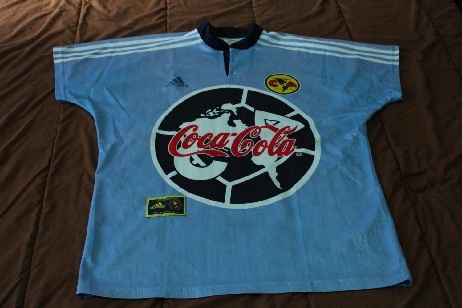 d8f692a546e Club America Goalkeeper Maillot de foot 1998 - 1999.