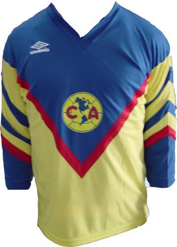 260363ffbfc Club America Home maglia di calcio 1984 - 1985.