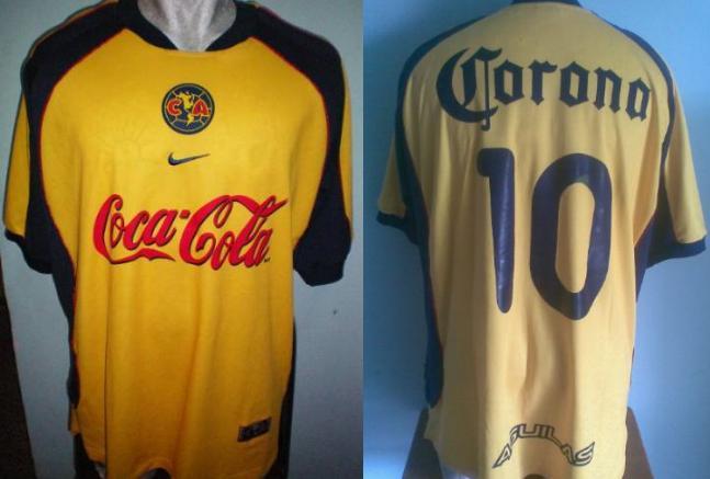f6647e6f86a Club America Home maglia di calcio 2001 - 2002.