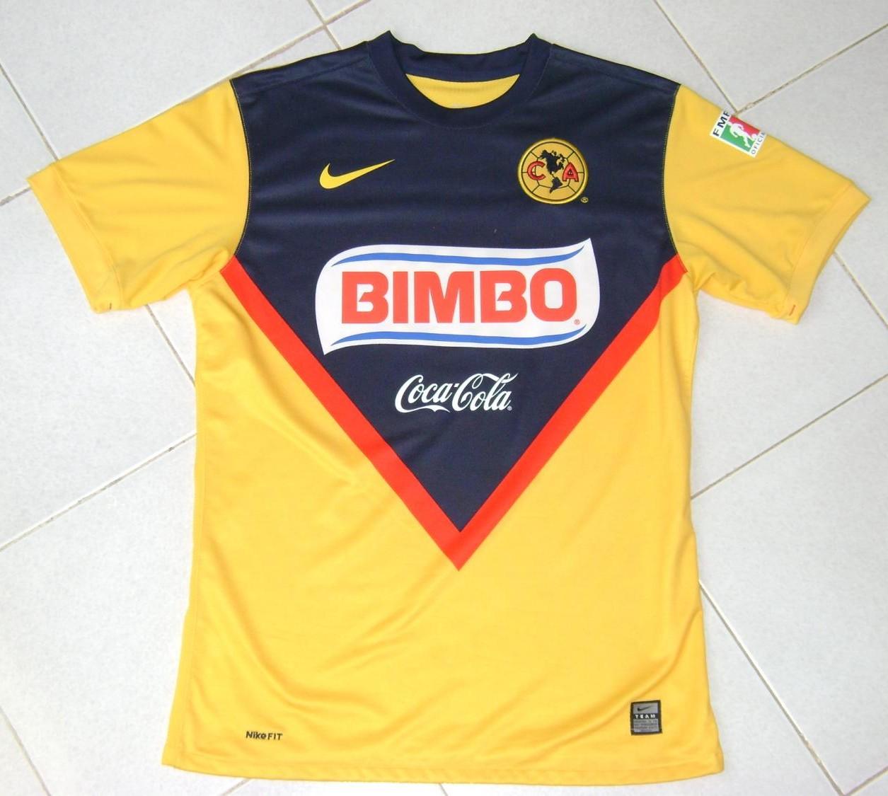 3643219ca Club America Home camisa de futebol 2009 - 2010.