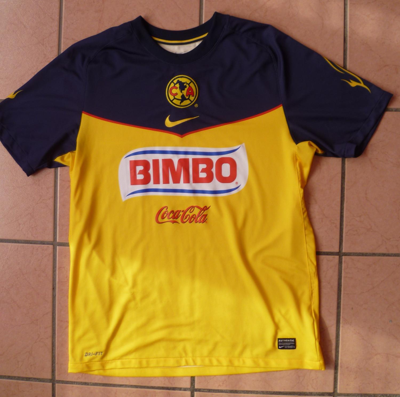 4170c2bf9b0 Club America Home maglia di calcio 2011 - 2012.