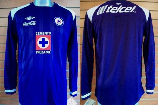 9eec896c9fc Cruz Azul Goalkeeper maglia di calcio 2010 - 2011.