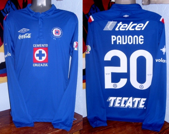 ce178e58c Cruz Azul Home Maillot de foot 2012 - 2013.