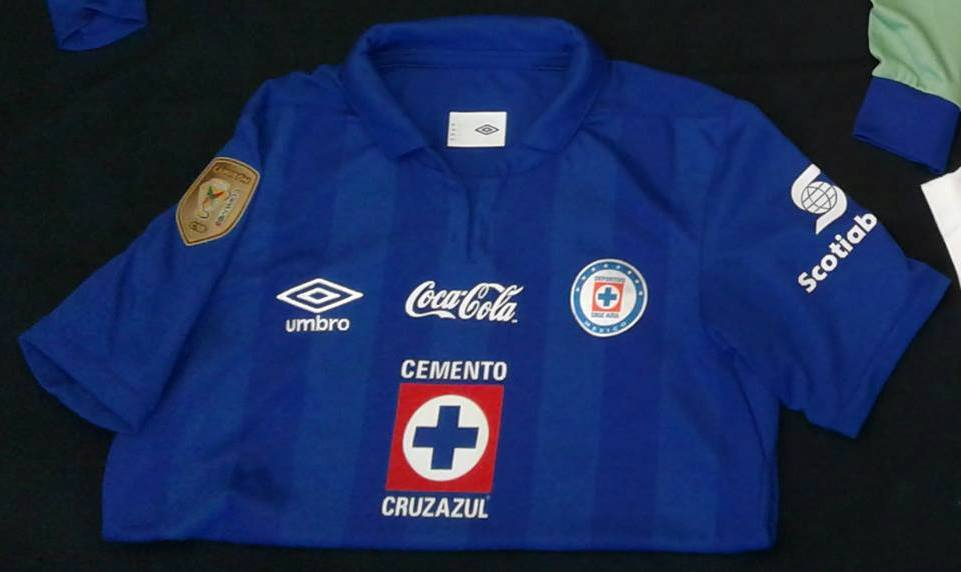 ffe7954b4 Cruz Azul Home maglia di calcio 2013 - 2014.