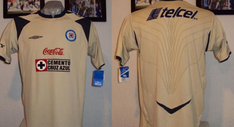 c3ed3f6564d Cruz Azul Third חולצת כדורגל 2008 - 2009.