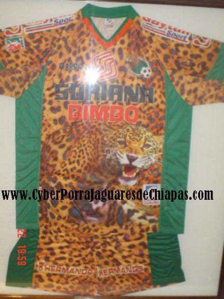 Chiapas Jaguares FC Home football shirt 2002. 2a8cb3a71bef4