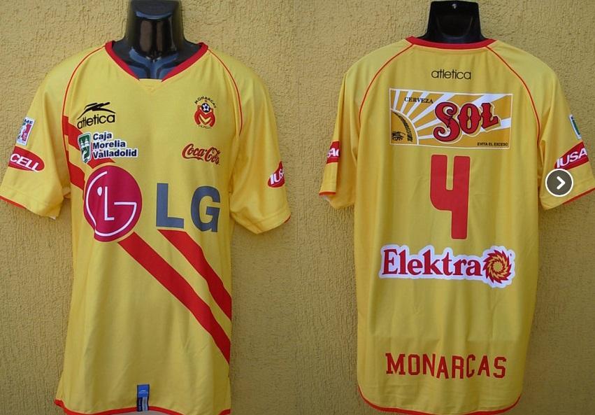Morelia Monarcas Shirts Monarcas Morelia Home Football