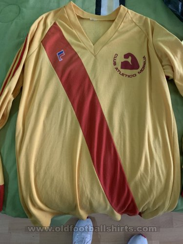 Monarcas Morelia Home Maillot de foot 1981 - 1982