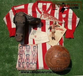 Necaxa Local Camiseta de Fútbol 1933