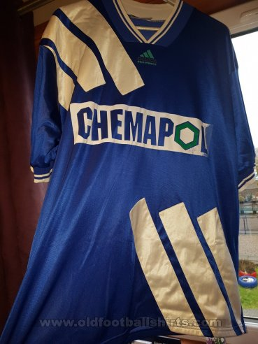 FK Drnovice Nesicky Away football shirt 1992 - 1994