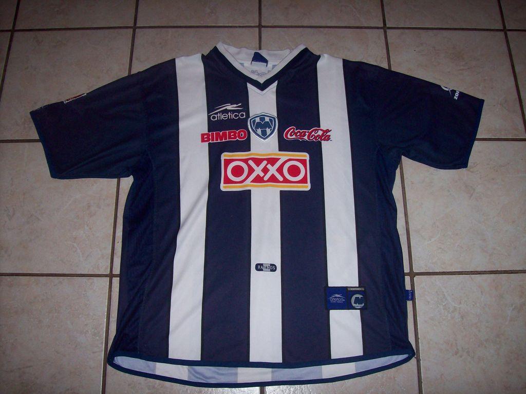 1b25af4a0bd Rayados de Monterrey Home Maillot de foot 2000 - 2001.