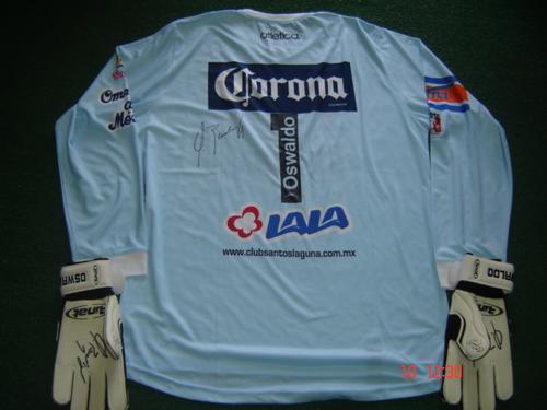 b950412f01d Santos Laguna Goalkeeper maglia di calcio 2007 - 2008.