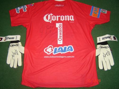 acc9597f3f2 Santos Laguna Goalkeeper football shirt 2007 - 2008.