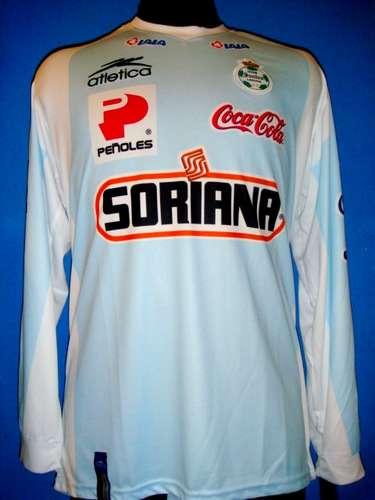 8c4efad5142 Santos Laguna Goalkeeper Camiseta de Fútbol 2007 - 2008.