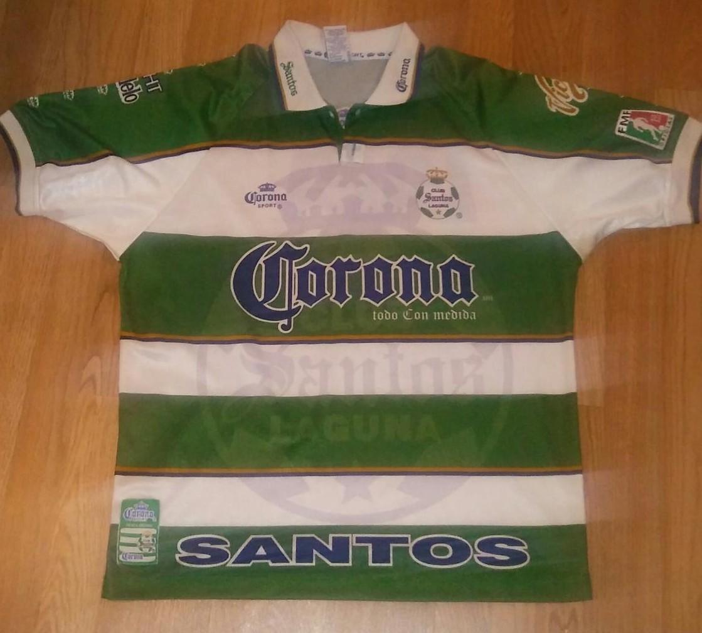 18014109d Santos Laguna Retro Replicas Maillot de foot 1999 - 2000.
